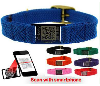 Smartphone Scan Code dog collars