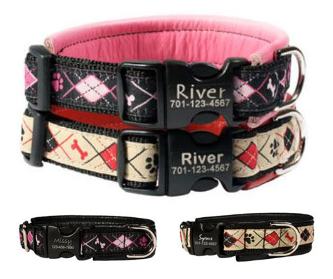 Personalized Martingale No-Pull Collar and Leash Set