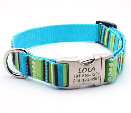 Id Plates For Dog Collars