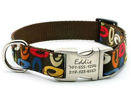 personalized collars for dogs engraved buckle dog collars