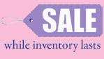 sale while inventory lasts